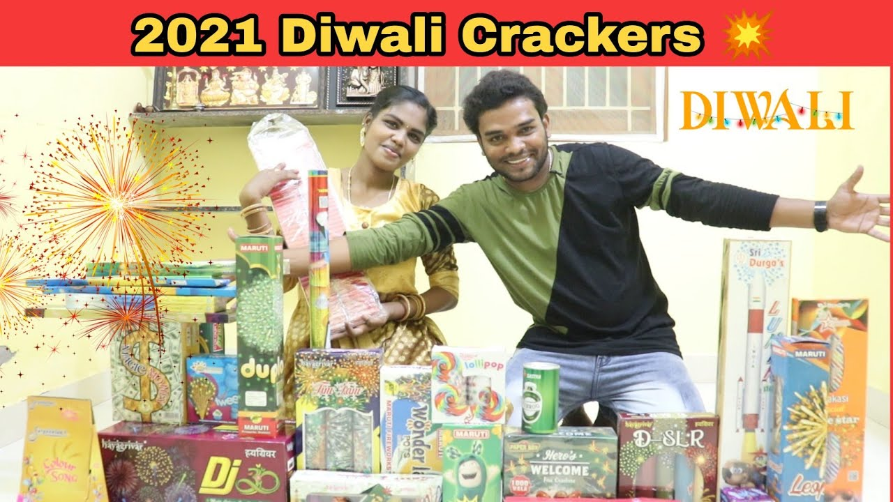 2021 Diwali Crackers Order and Unboxing 🎁💥