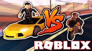 LAMBORGHINI VS MOTORCYCLE!! WHO IS FASTER?! (Roblox Jailbreak Race)