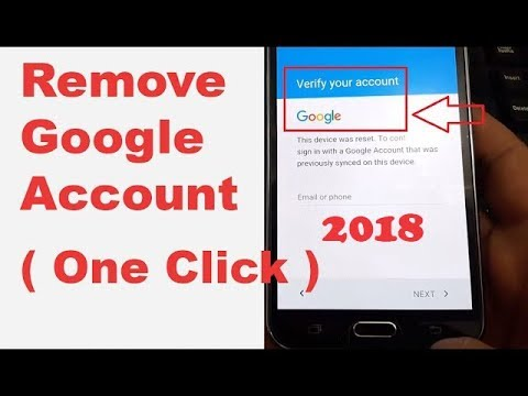 (In ONE CLICK 2018) Remove/Delete/Bypass All Samsung Google Account Lock (FRP) ᴴᴰ