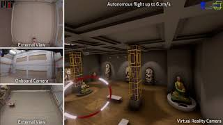 Autonomous Drone Racing in FlightGoggles