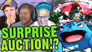 A SURPRISE AUCTION!? WHAT!? | Cutthroat Pokemon X and Y 5-Player Nuzlocke Versus | #12