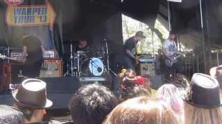 The Ataris - Your Boyfriend Sucks live @ Warped Tour 2013 Mountain View