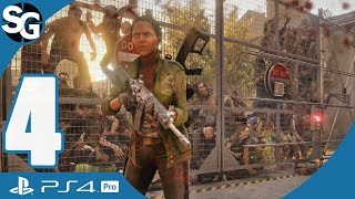 World War Z Walkthrough Gameplay (No Commentary) | New York Evac Site - Part 4