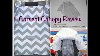 Carseat Cover/Canopy from REVIEW - Used Promo Code to get for free