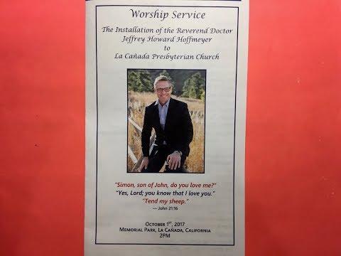Worship Service & Installation of Rev. Dr. Jeff Hoffmeyer
