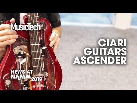 A folding guitar? Ciari Guitars #NAMM2019