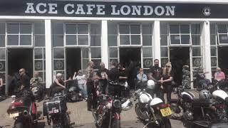 Ace Cafe Triumph Day 2018