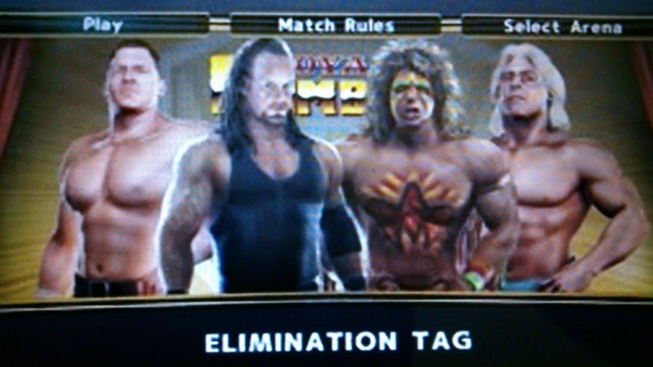 WWE Undertaker & Triple H VS Ultimate Warrior & Ric Flair ... Wwe Ultimate Warrior Vs Undertaker