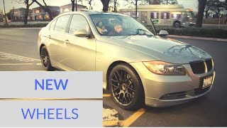 BMW E90 GETS SOME NEW WHEELS!