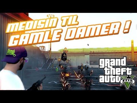 GTA V - MEDISIN TIL GAMLE DAMER!