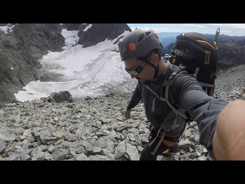 CLIMBING MOUNT SHUKSAN Fisher Chimneys Route  North Cascades, Washington