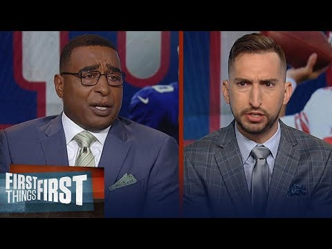 Nick and Cris have heated discussion over Eli Manning and Daniel Jones | NFL | FIRST THINGS FIRST