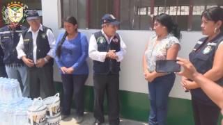 Municipalidad de Hualmay llevó ayuda a los damnificados en el sector de El Ahorcado - Santa Rosa
