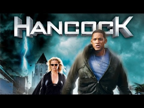 Movie trailer for hancock
