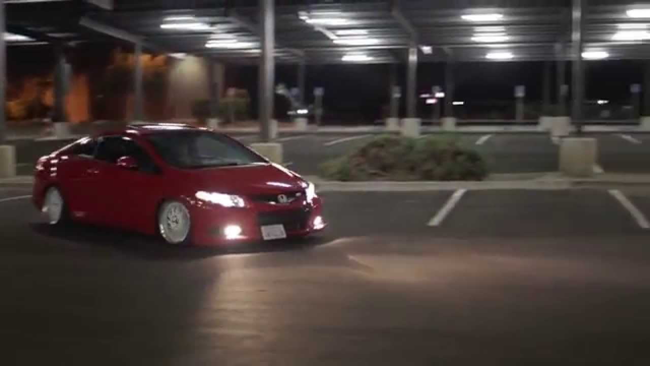 10th Gen Civic >> Slammed Honda Civic Si 9th gen - YouTube