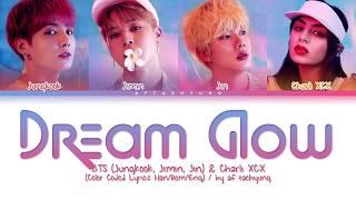 Baixar BTS (Jungkook, Jimin, Jin), Charli XCX - Dream Glow (Color Coded Lyrics Han/Rom/Eng)