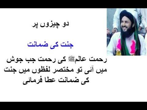 Janat ki Guarantee by Hazrat e Muhammad by mufti muhammad junaid raza khan qadri