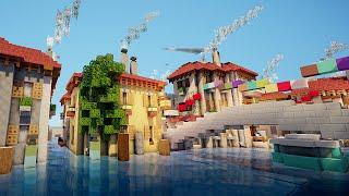 Visite de Venise sur Minecraft !! :)