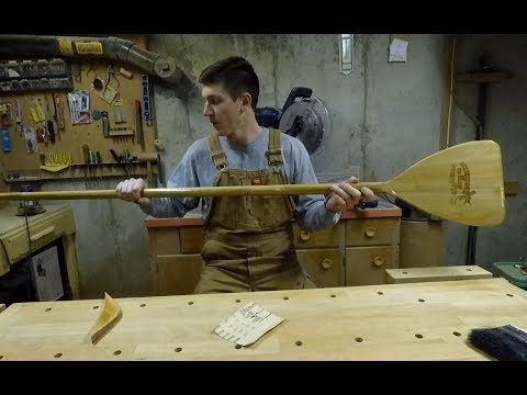 Building A SUP Paddle - Part 2 of 2