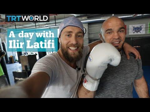 Throwing hands with Ilir Latifi