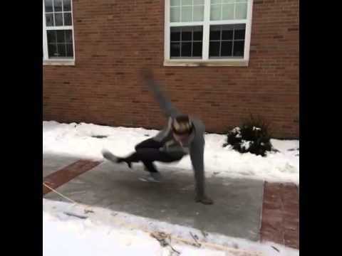 Ice makes everyone a break dancer - Logan Paul thumbnail