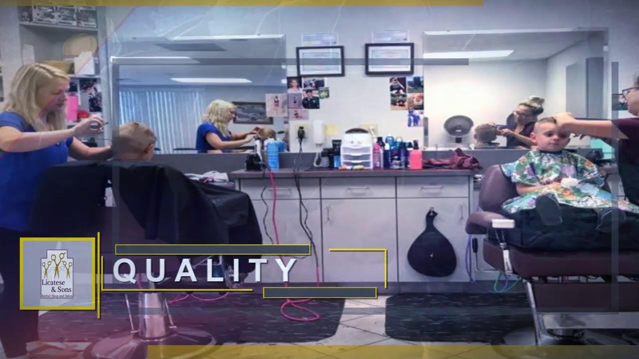 Licatese Sons Barber Shop Salon York Pa Youtube