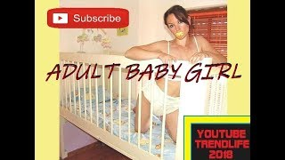 Adult Baby Girl Dresses Up Like A Baby 2018 AB AC DL ABDL DDLG