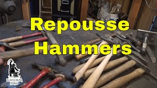 Repousse tools - tool of the day