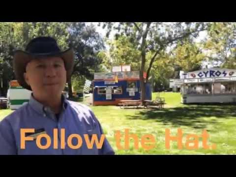 Boise Art Museum - Art in The Park 2014 - Follow the Hat.