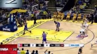 NBA 2K14 gameplay