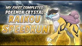 My First Completed Pokemon Crystal Speedrun with RAIKOU!