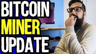 My Bitcoin Mining Rig Update Azad Chaiwala Show
