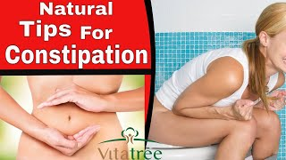 Constipation : How To Relief Constipation Naturally : VitaLife Show Episode 129