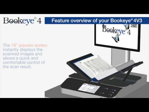 Feature overview of your Bookeye® 4V3