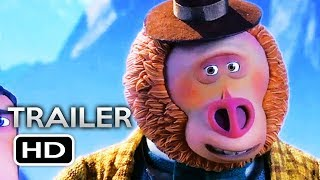 MISSING LINK Official Trailer 2 (2019) Hugh Jackman Animated Movie HD