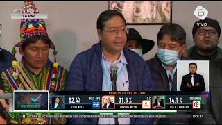 Luis Arce: We have recovered democracy and hope Speech by the president-elect of the Movement Towards Socialism (MAS) of Bolivia, From YouTubeVideos