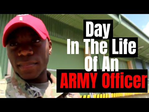 Day in the Life an ARMY Officer