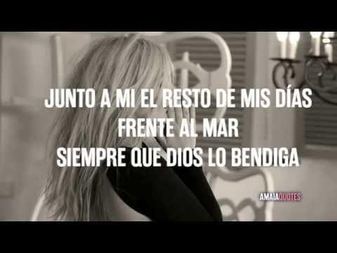 Amaia Montero - Contigo No Me Voy (Lyric)