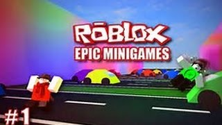 Roblox-lets play Epic Minigames