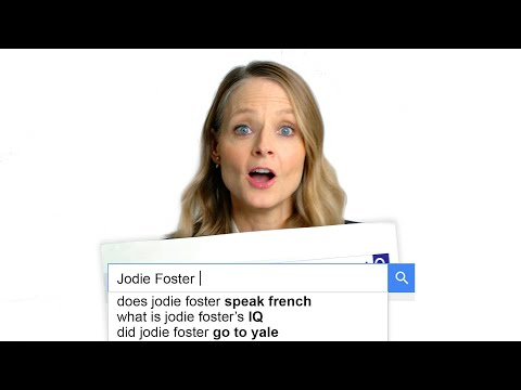 Nina Del Rio - Jodie Foster does the Autocomplete Interview