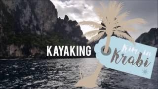Krabi Spesialisten, Kim in Krabi: Kayaking in Borthor, Krabi, Thailand