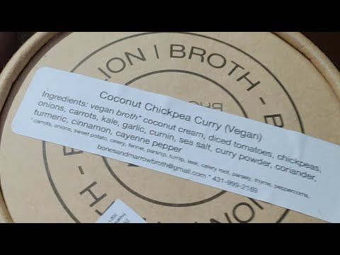 Vegan Curry Coconut Chickpea Soup 🍲