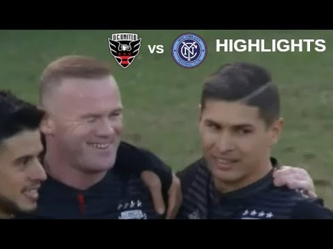 Wayne Rooney vs New York City FC Highlights | D.C. United vs New York City FC 21/10/2018