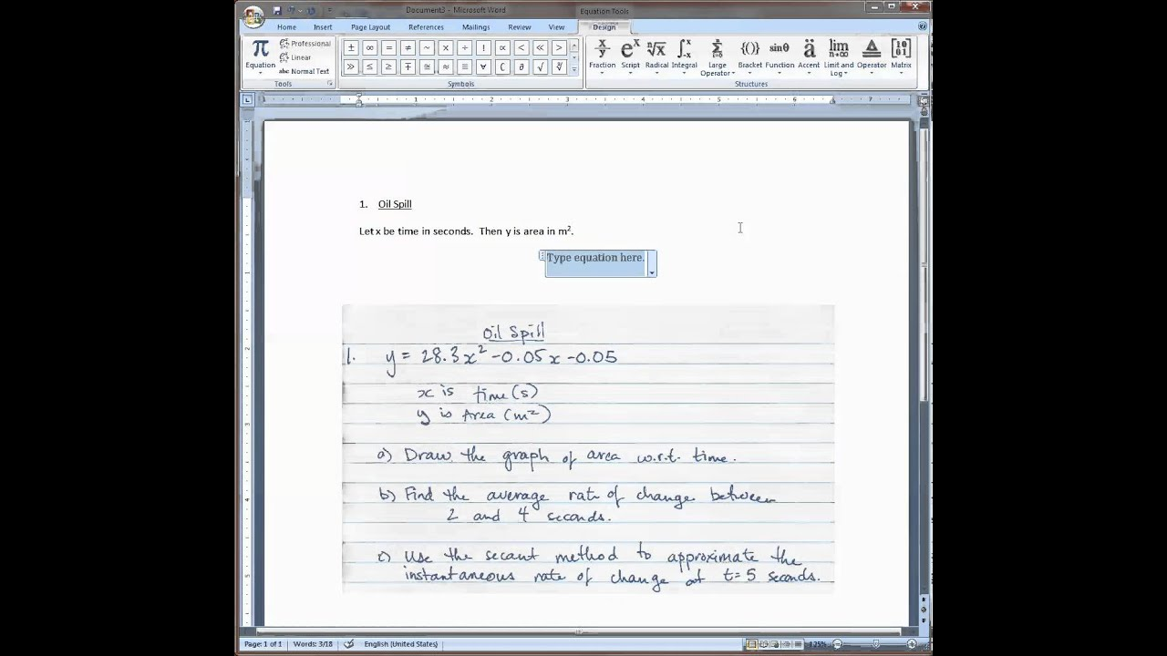 Ms word 2007 exponents youtube biocorpaavc Image collections