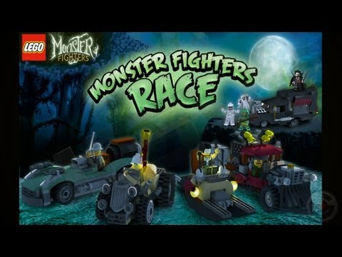 LEGO® Monster Fighters Race - iPhone Gameplay Video