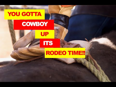 David Chamberlain -Official Music Video - Bull Riders - Cowboy Up  on a funky bull