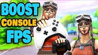 How To Get More FPS On Console Fortnite!