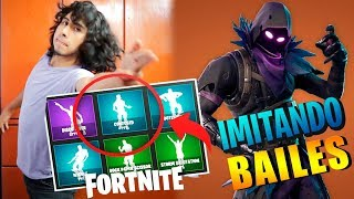 IMITATING FORTNITE BAILES IN REAL LIFE 2018 Jesus Efrain