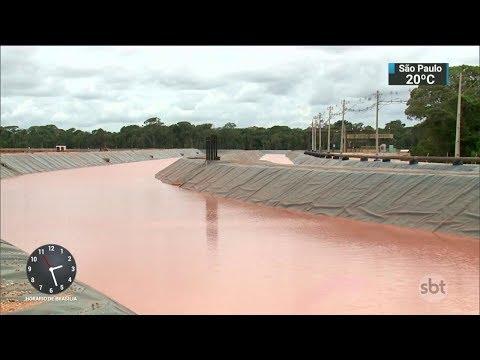 Laudo confirma vazamento em barragem de rejeitos no Pará | SBT Notícias (27/02/18)