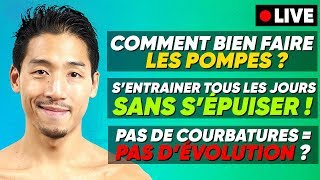 PAS DE COURBATURE = PAS D'ÉVOLUTION ? (à 18min10)